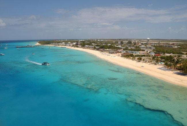 View on Turks an d Caicos island
