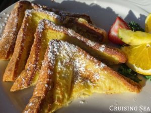 french-toast on a plate