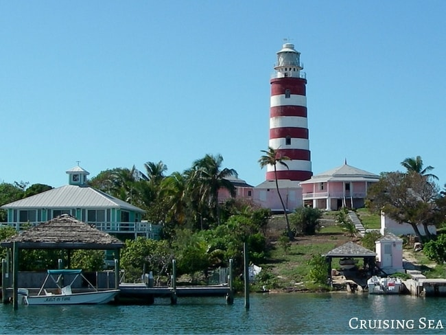 Light house in the Abacos