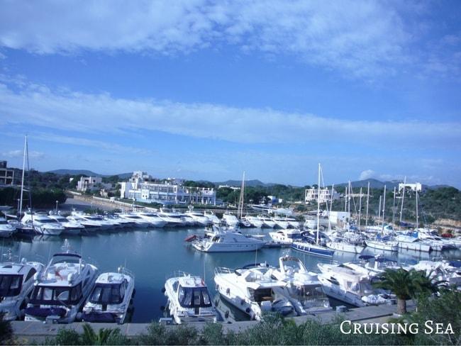 Marina in Mallorca