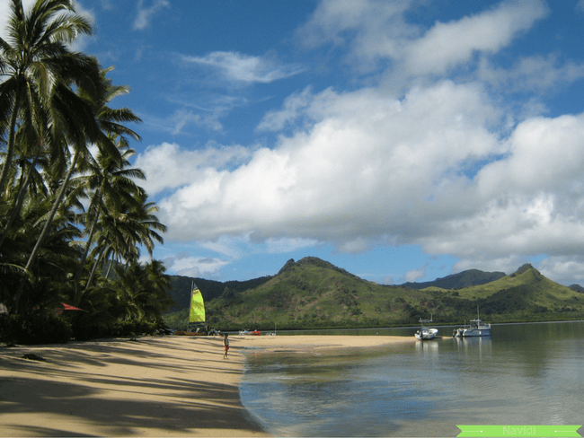 Beach in Naviti islands