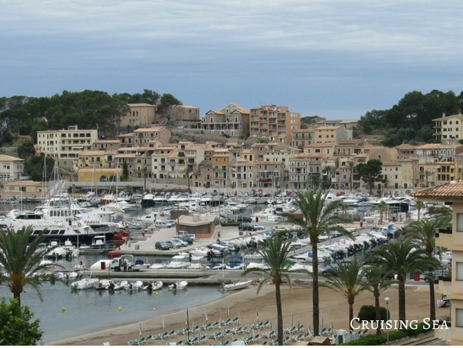 Boats in Port Soller