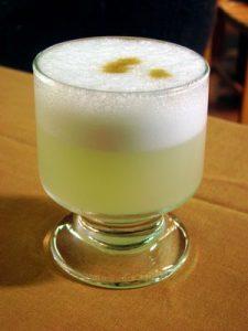 Drunken monkey drink in a glass