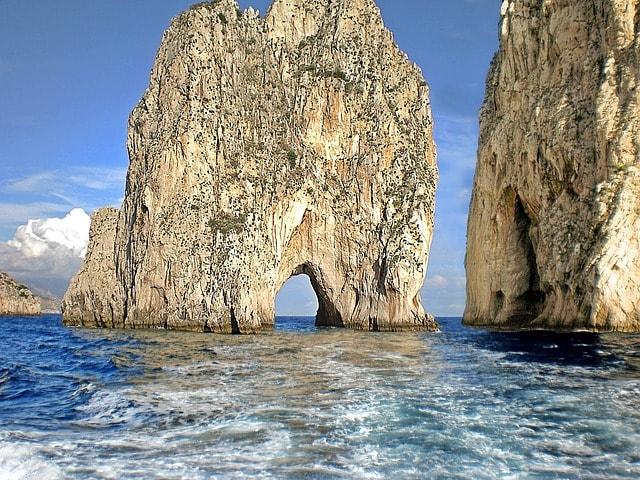 Rocks in Capri