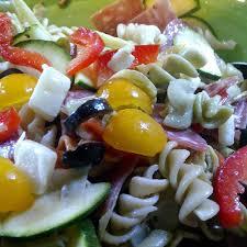 Mozzarella salad on a plate