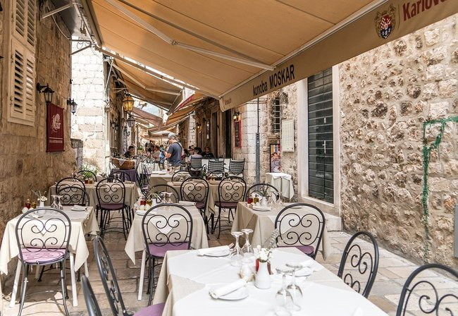 Restaurant In Dubrovnik