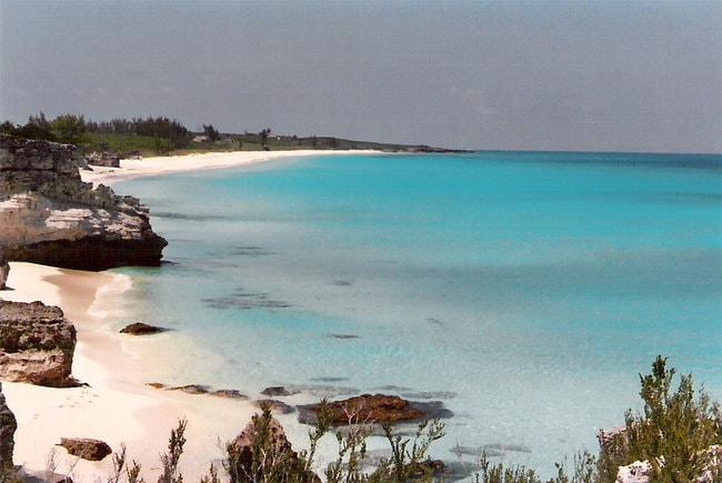 Beach in Great Guana Cay