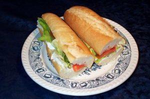 Pesto tuna sandwish