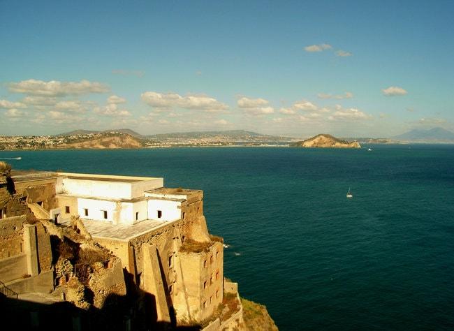 View on Pozzuoli Coast