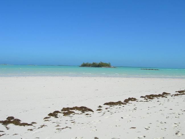 Beach in Treasure Cay
