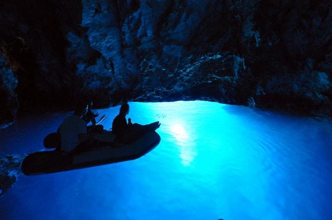 Bisevo caves in Croatia