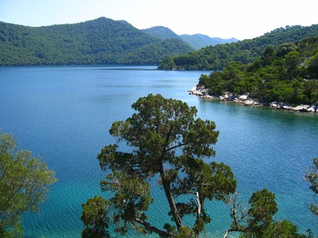 Budihovak island in Croatia