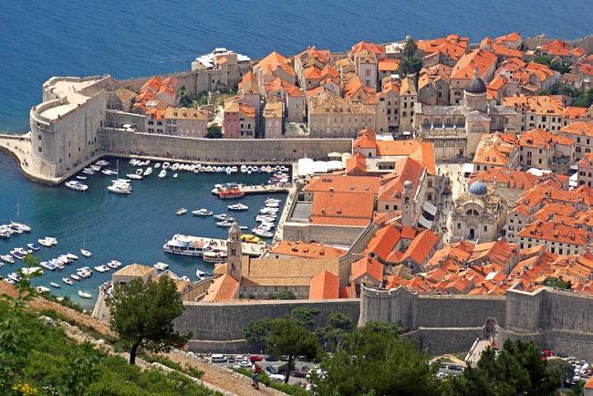 Trogir town in Croatia