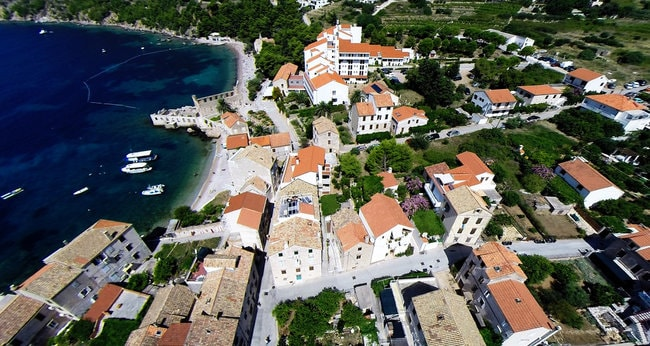 Komiza island in Croatia