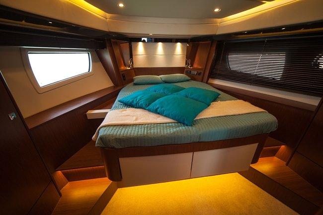 A cabin yacht charter