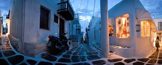 Town in Mykonos