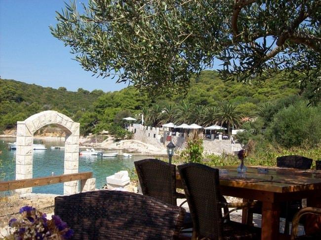 Palmizana island in Croatia