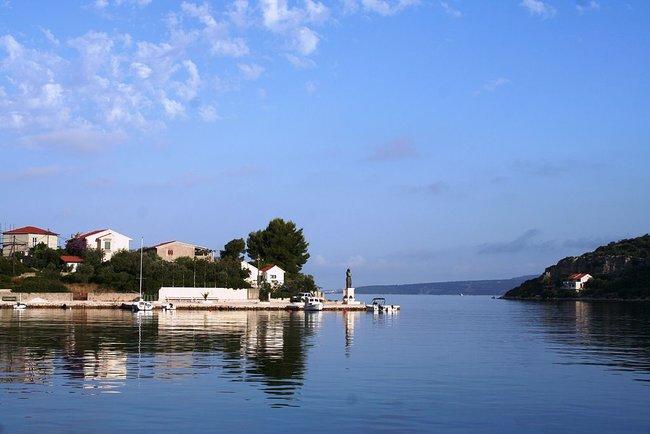 Veli Dervnik Harbor in Croatia