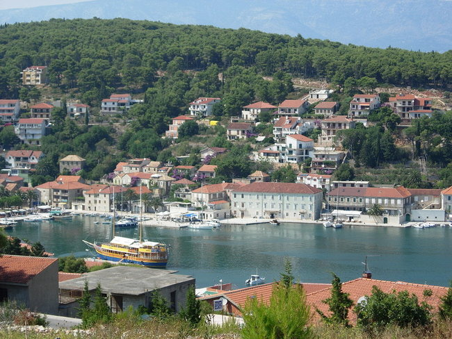 Jelsa island in Croatia