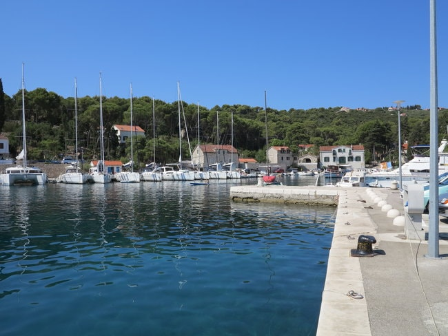 Rogac marina in Croatia
