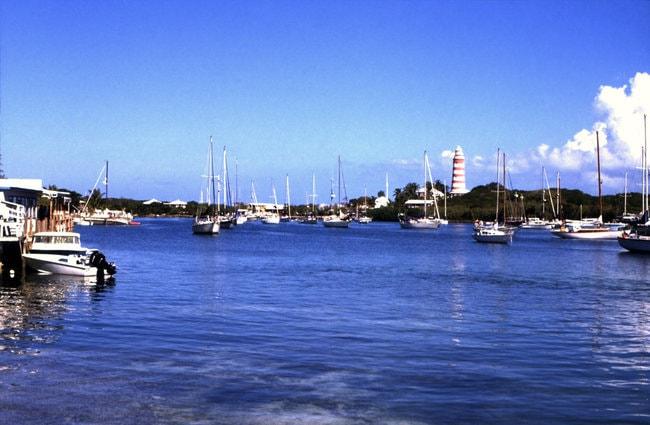 Boats in Marsh Harbour