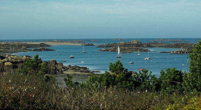 Boats in the Chausey Islands
