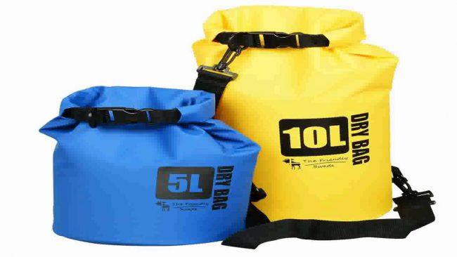 Friendly waterproof dry bags