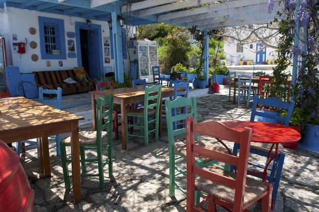 Oromedo restaurant in Kos