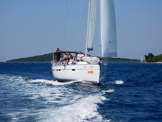 Family sailing holiday in Croatia