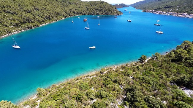 Mljet in Croatia