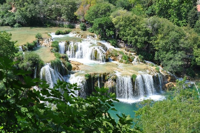 Water falls inCroatia