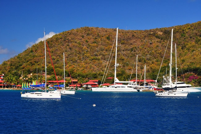 Bitter and Yacht Club in the BVI