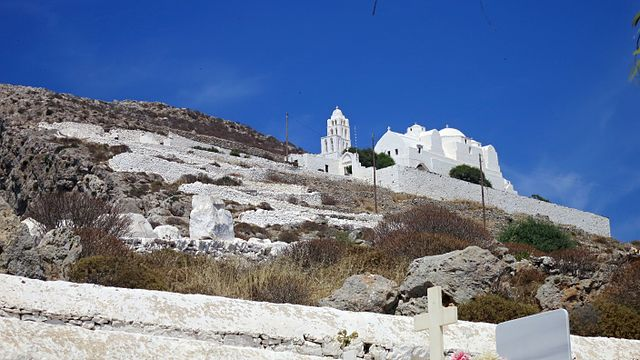 Folegandros in the Cyclades