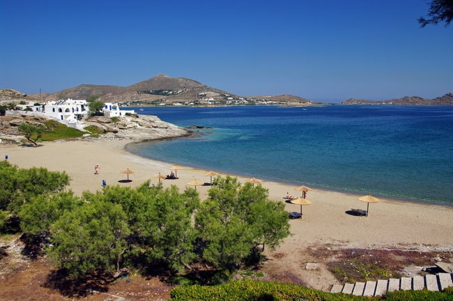 Naoussa village in the Cyclades