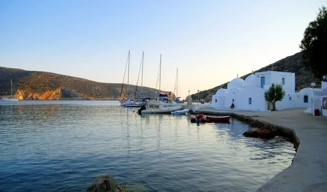 Sifnos village in the Cyclades