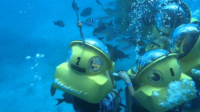 Submarine Scooter adventure in Oahu