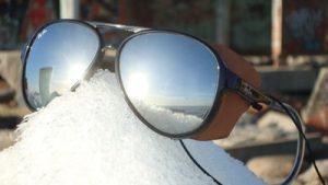 Polarized sunglasses frame material