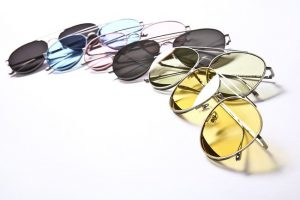 Colors of lenses for polarized sunglasses