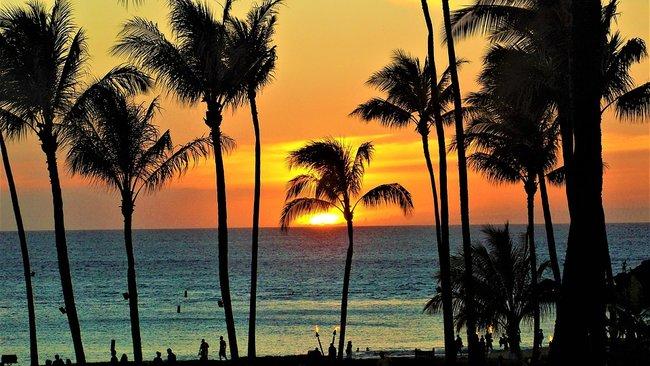Snorkeling beach in Maui