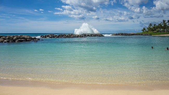 Ko Olina Lagoon Beach in Oahu