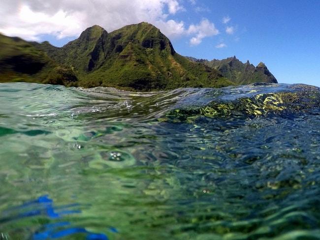 Makua Beach in Oahu