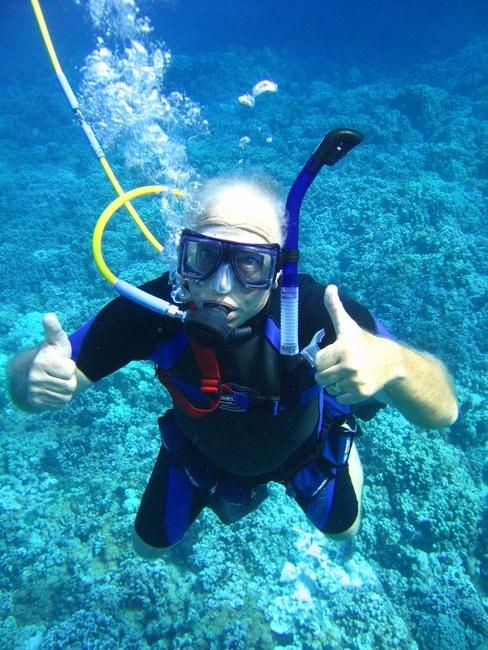 Snuba diving tour in Molokini