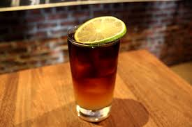 Dark n Stormy Cocktail