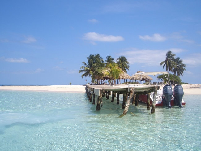 Belize snorkeling spot in the Caribbean