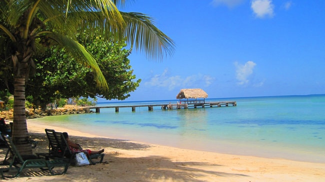Snorkeling destination in the Caribbean