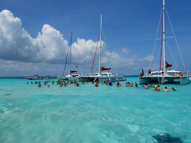 Grand Cayman in the Caribbean