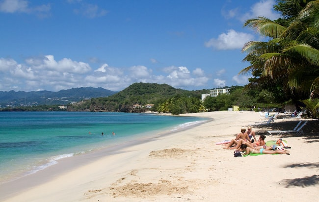 Grenada snorkeling spot in the Caribbean