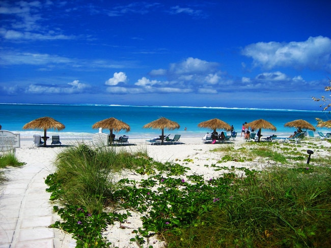 Turks and Caicos snorkeling spot in the Caribbean