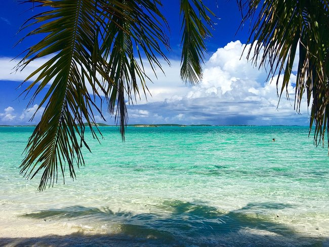 Sailing in the Abacos