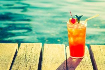 Tropical rum margarita Summer Cocktail